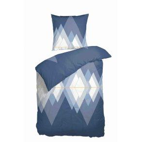 a0718f068d6 Sengetøj Iceberg blue satin 140x220 + pudebetræk 63x60 fra Nordisk Tekstil