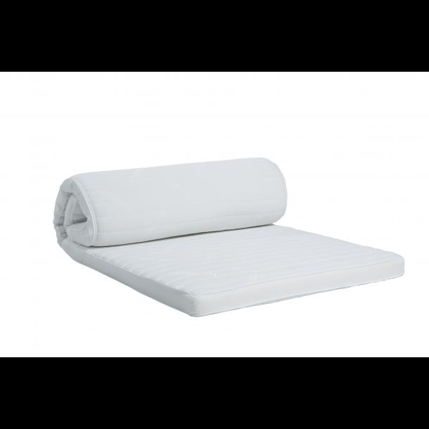 Dunlopillo Natura White topmadras 8 cm. høj med naturlatex og Clima