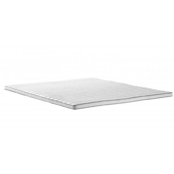Topmadras Unique 4 cm. latex indlæg og ventilerende sidekant