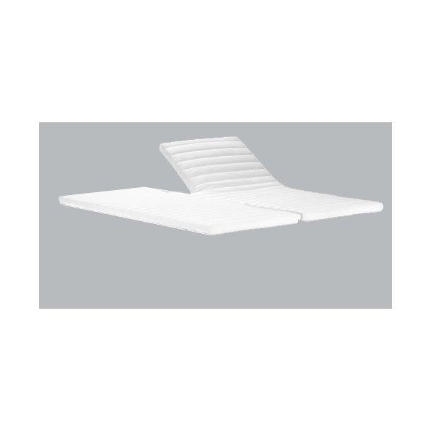 H-topmadras Supreme 6 cm. latex indlæg og 3D ventilerende sidebund
