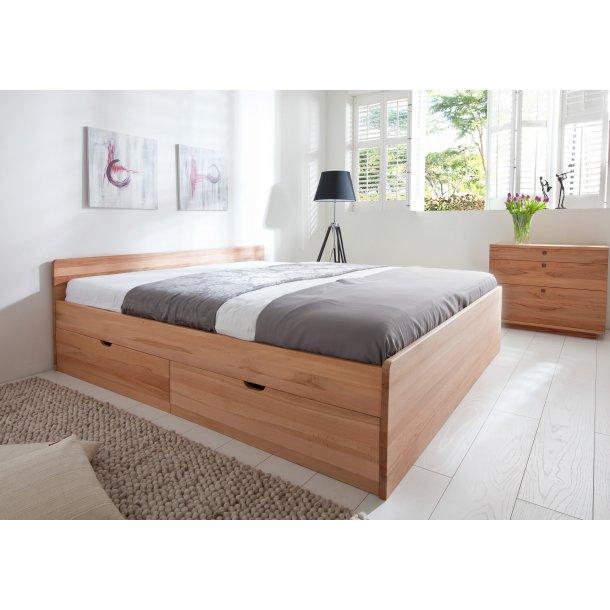 seng skuffer Messina seng massiv med skuffer. Senge med opbevaring 200x210 cm  seng skuffer