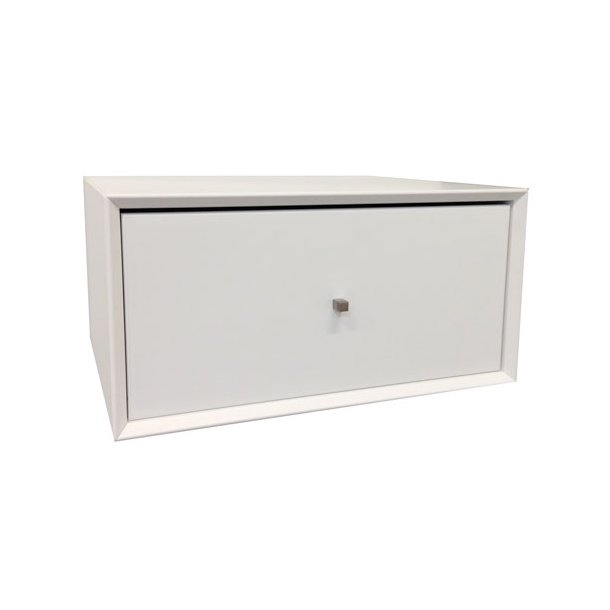 Smart Sengebord Box med 1 skuffe til vægophæng RS91