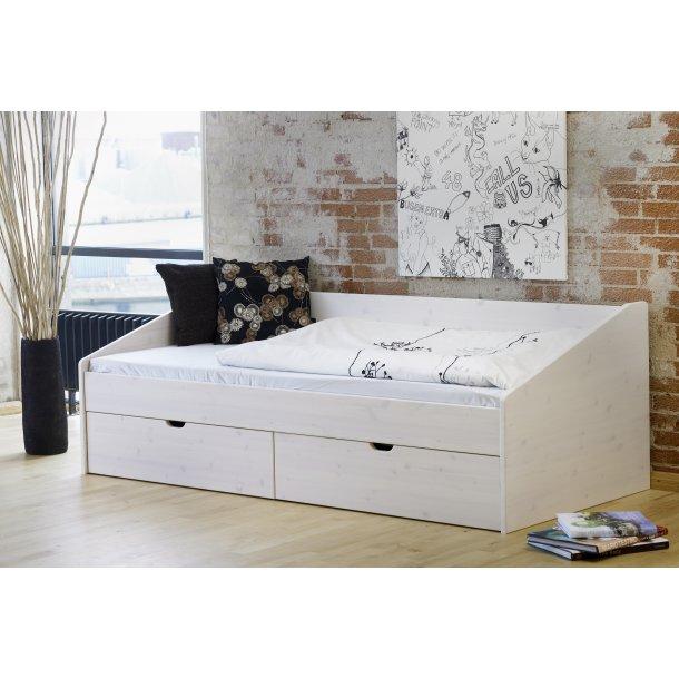 opbevaring seng Briks/seng med opbevaring (seng med skuffer) 90x200 cm opbevaring seng