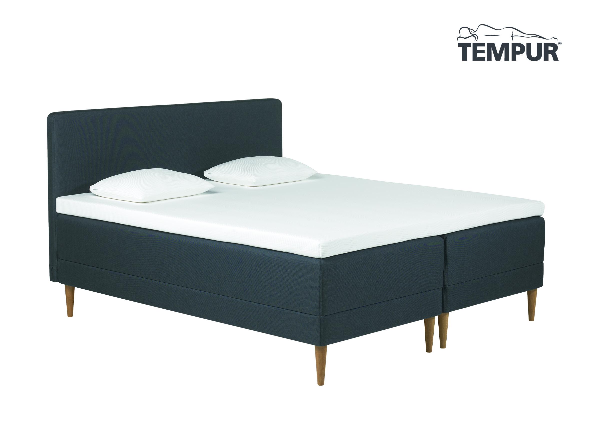 tempur promise box 180x200 cm udstillingsseng farve sort tempur boxmadrasser og plansenge. Black Bedroom Furniture Sets. Home Design Ideas